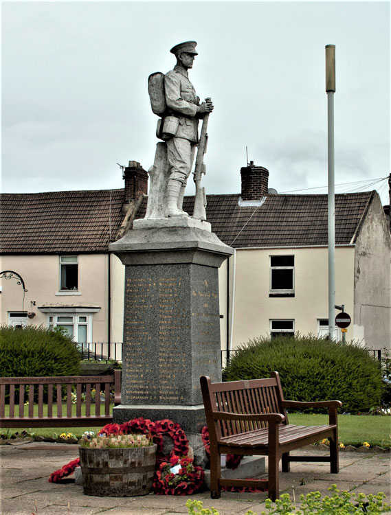 The War Memorial for Ferryhill (County Durham)