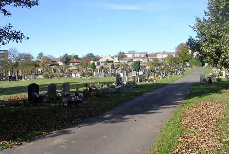 North Bierley Cemetery - Cemetery Road