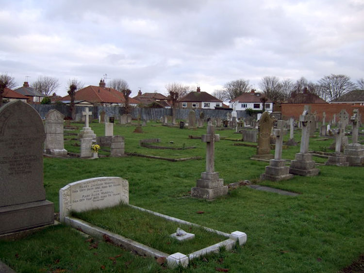 A view of Bridlington Cemetery