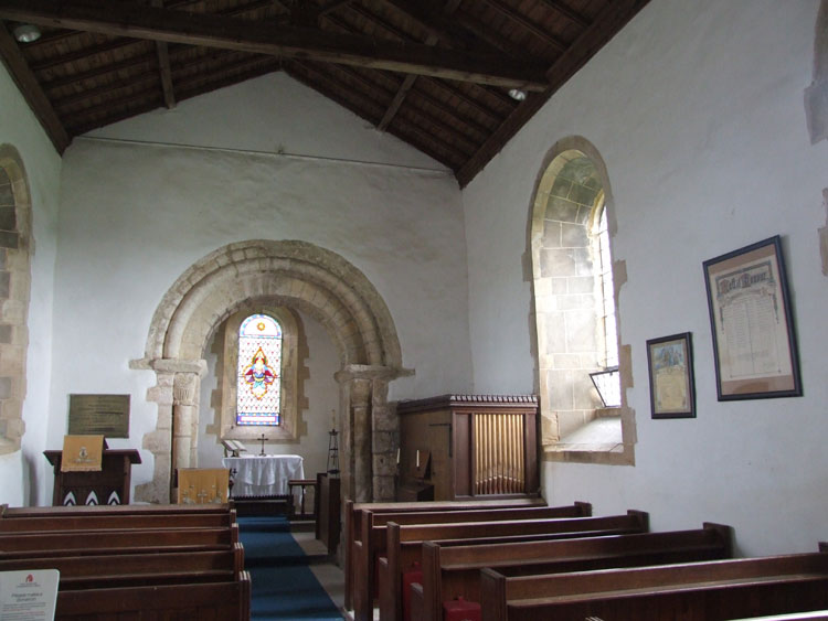 The Interior of St. Nicholas's Church, Littleborough.
