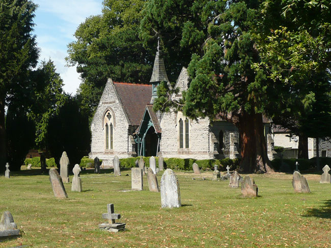 Evesham Cemetery and the Chapel of Rest