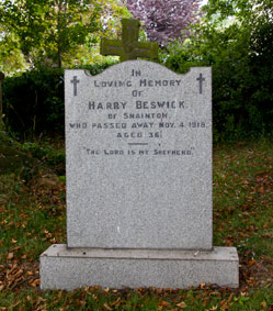 Private Harry Beswick, 235701.