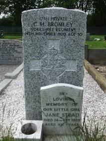 Private Charles Holland Bromley. 17361.