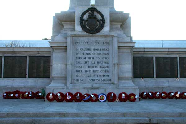 The Hartlepool War Memorial