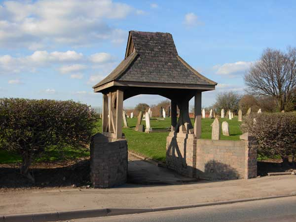 The Lych Gate entrance to Haverton Hill (St. John's) Churchyard