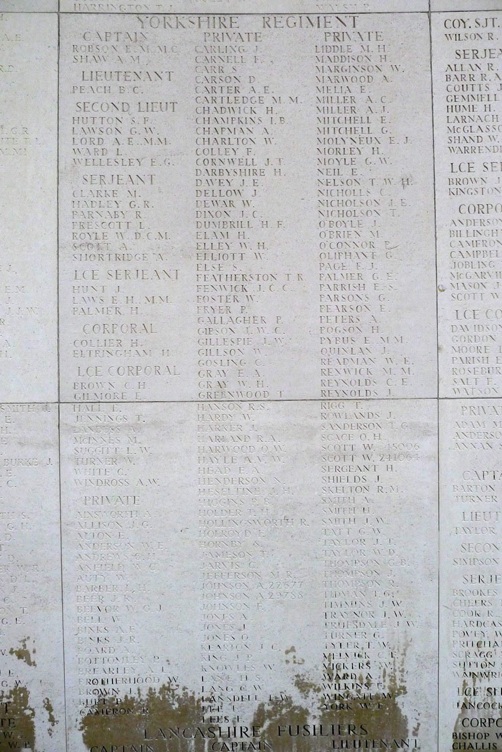 the yorkshire regiment memorials overseas ploegsteert rh ww1 yorkshires org uk