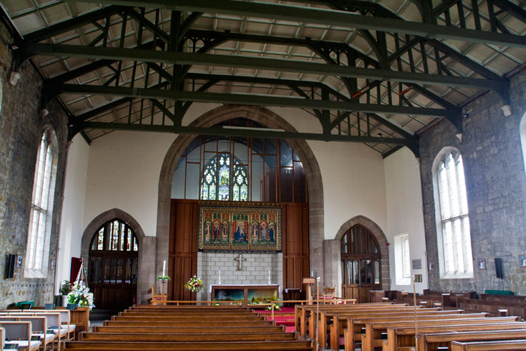 The Interior of St. Peter's Church, Redcar (Cleveland)