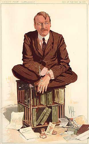 "A portrait of Sir Mark from ""Vanity Fair"" in 1912"
