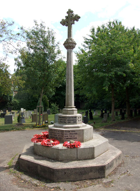 The War Memorial for Stoke Golding (Leicestershire)