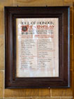 Appleton-le-Moors Roll of Honour