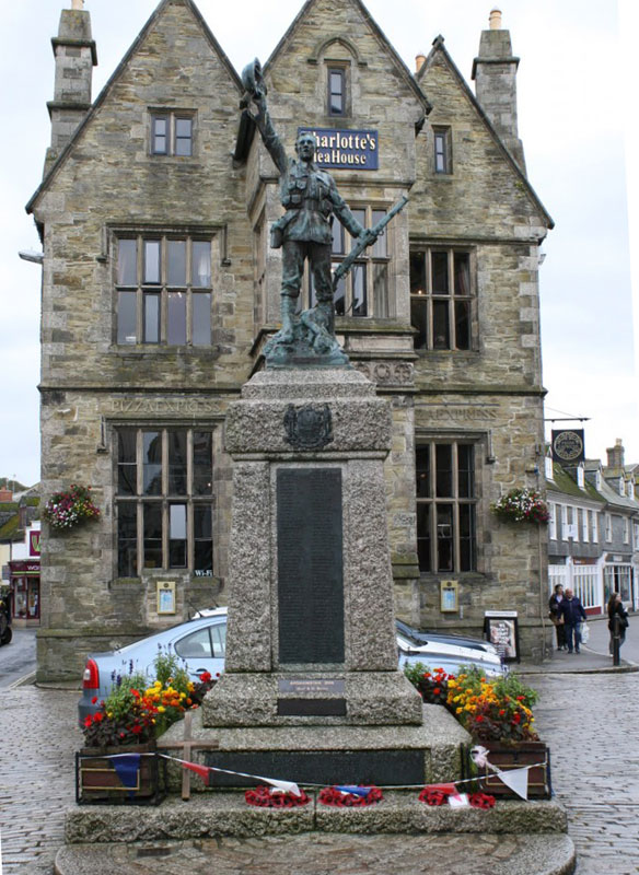 The War Memorial for Truro, Cornwall