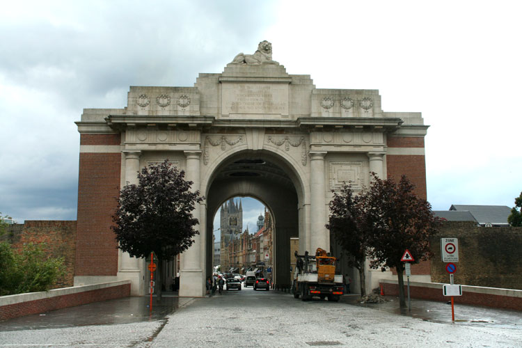 The Ypres Menin Gate Memorial